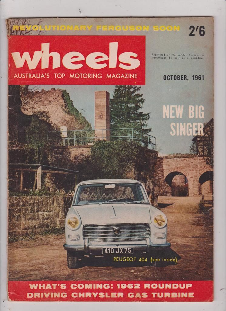 1961 Wheels Magazine Choose Your Month Great Fathers Day Gift Idea For Him Australia Seller Of Vintage Fathers Day Gifts Great Father S Day Gifts Christmas Ideas For Him