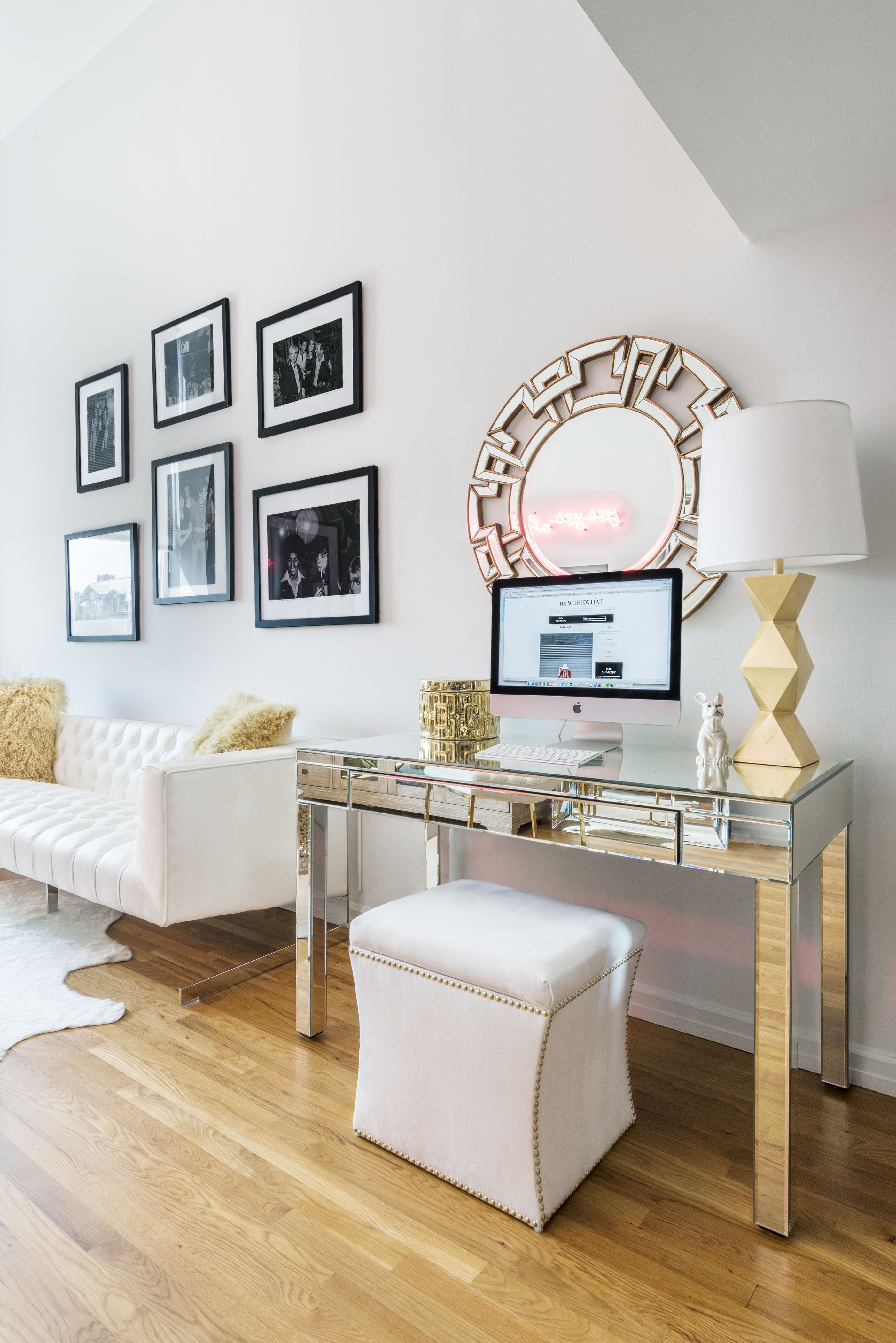 A chic ZGallerie SmallSpaces home makeover with NYC