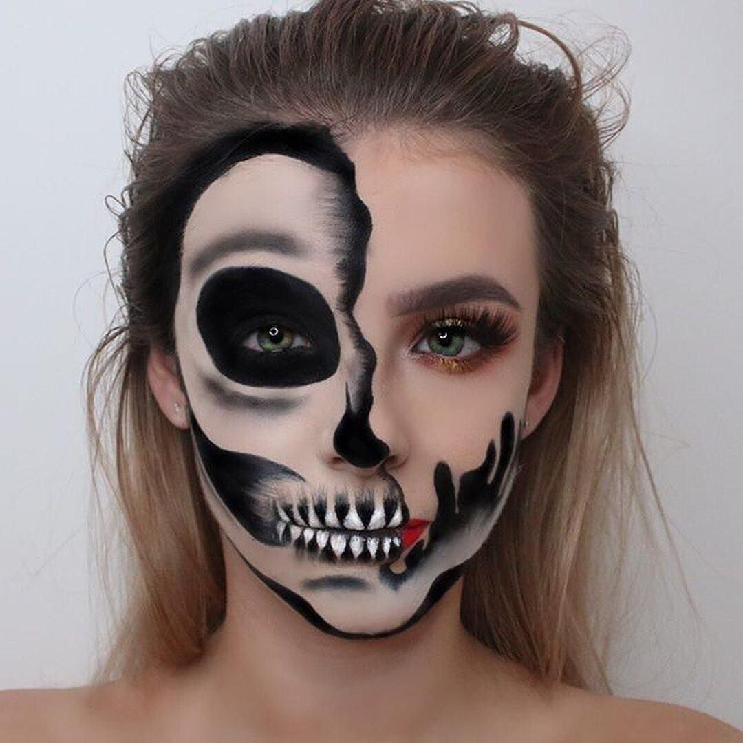 Pin by Makayla Lopez on sfx Amazing halloween makeup