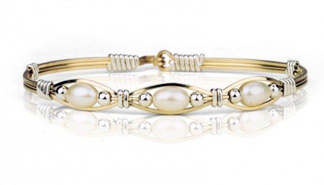 Bella Bracelet 14k Gold Artist Wire