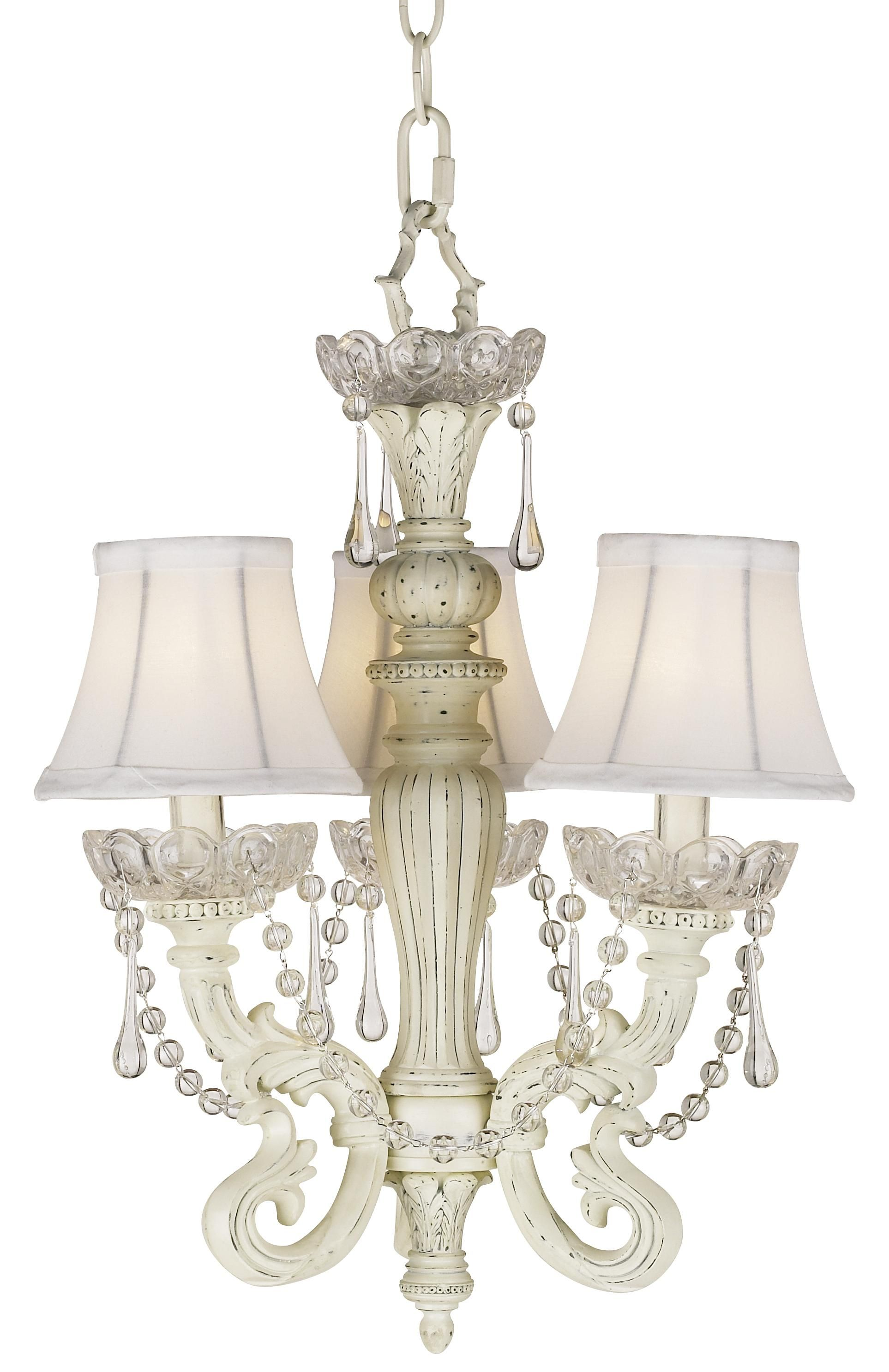 Kathy Ireland Three Light Mini Crystal Chandelier
