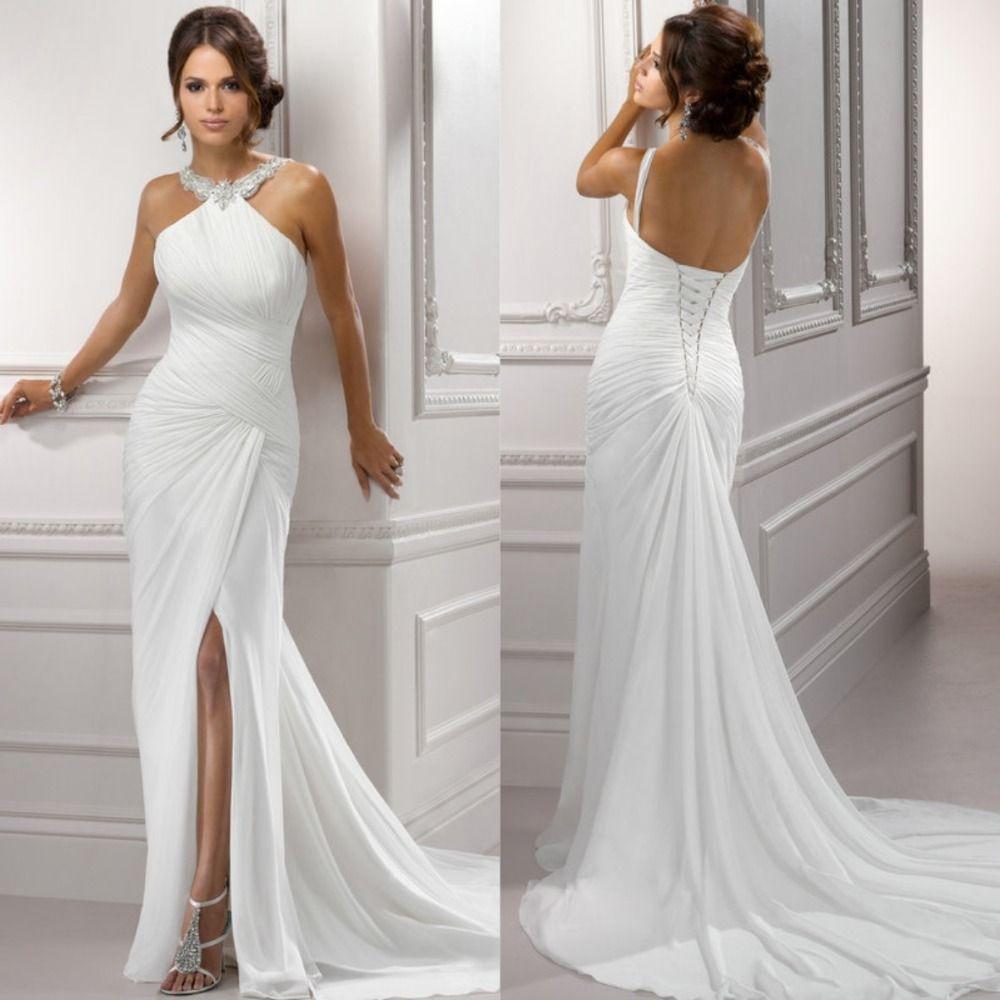 Simple wedding dresses cheap  Cheap beach simple wedding dresses Buy Quality beach wedding dress
