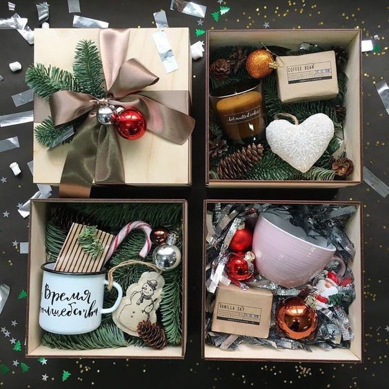 Photo of Cozy Gift Baskets #christmasgiftbaskets #christmasgifts #christmasgiftideas #chr…