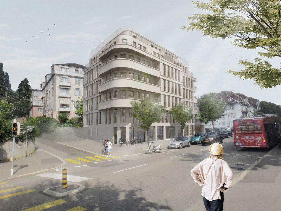 Magizan architectes lausanne suisse apartment blocks