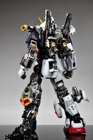 GUNDAM GUY: PG 1/60 RX-178 Gundam Mk-II - Painted Build