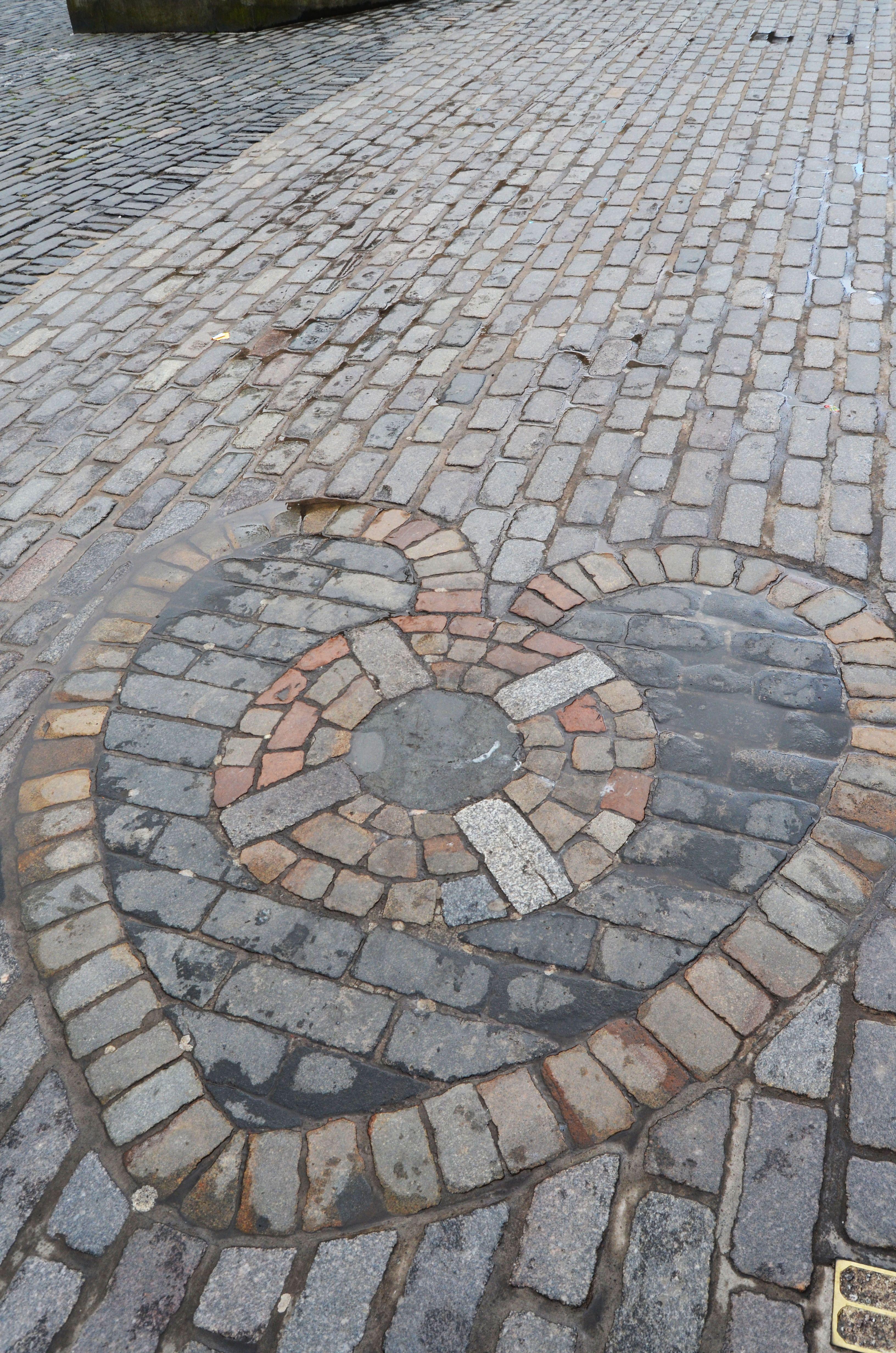 Mosaico corazón Edimburgo