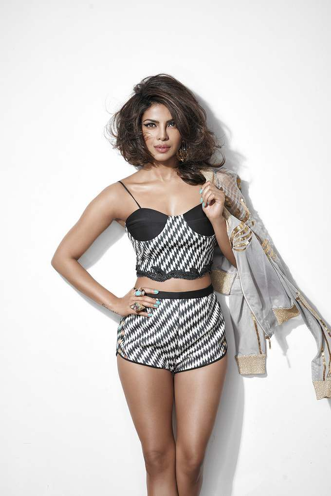 Image result for Priyanka Chopra sizzles in this backless outfit with plunging neckline