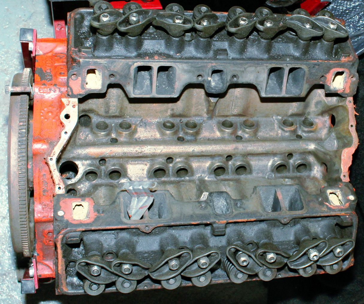 Small Block Chevy 350 Dimensions | Motor building | Pinterest ...