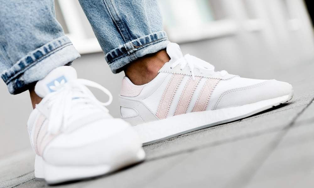adidas - I-5923 W (white / pink) - D97348 | Adidas, Sneakers ...