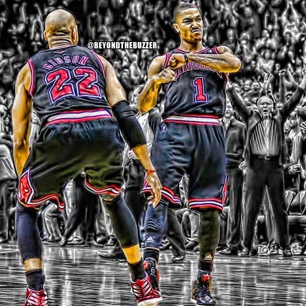 D-Rose [Instagrammed by beyondthebuzzer]