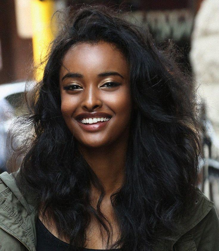 Pin by Kylie Til on Make up | Beautiful dark skin, Black is beautiful,  Ethiopian women