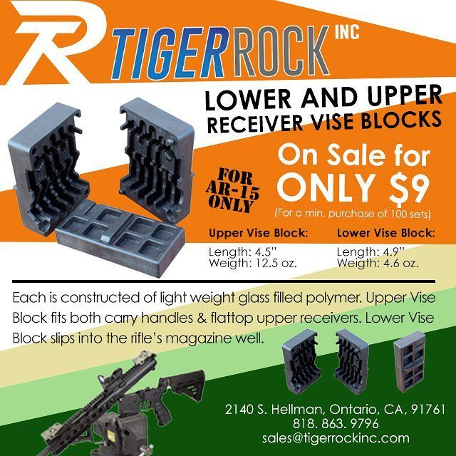 AR-15 Lower and Upper Vise Blocks SALE!! Get the set for