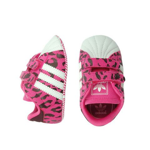 1f52fd735b02 Adidas Pink Leopard Crib Shoe - mini mioche - organic infant clothing and kids  clothes - made in Canada