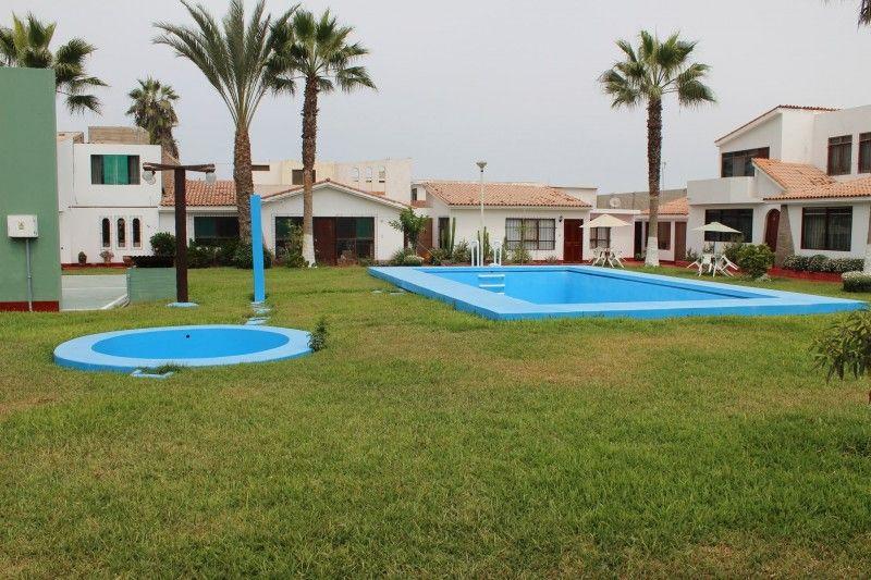 Venta De Casa De Playa En Lurin Con 4 Dormitorios Y Piscina