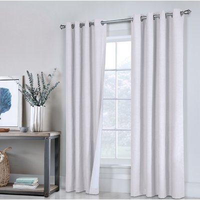 Darby Home Co Laureen Solid Max Blackout Thermal Grommet Curtain