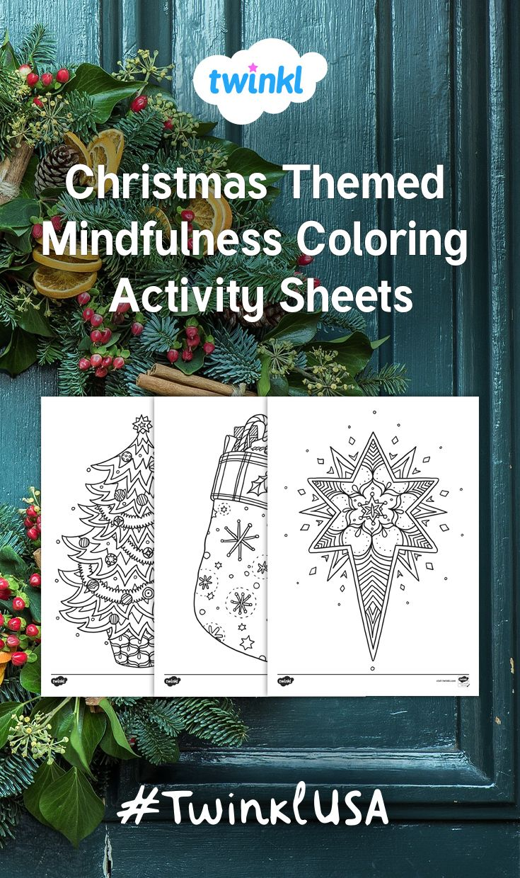 this fun set of christmas coloring sheets is perfect for a relaxing activity right before winter break use during a class party for an art project