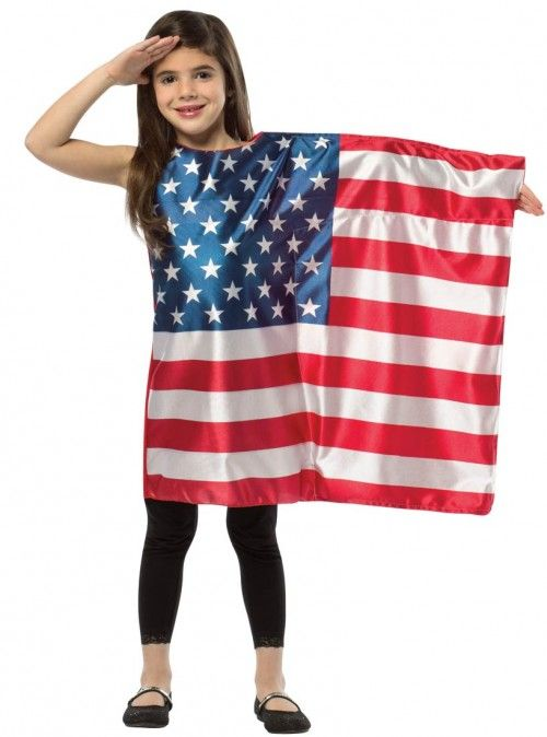 b3c0bc641c54 Rasta Imposta Usa Flag Dress Girls Costume Patriotic Costume | Clothing