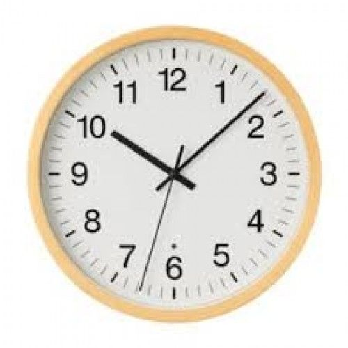 Birch Wall Clock Natural. Would look nice in the kitchen, $50 - Muji