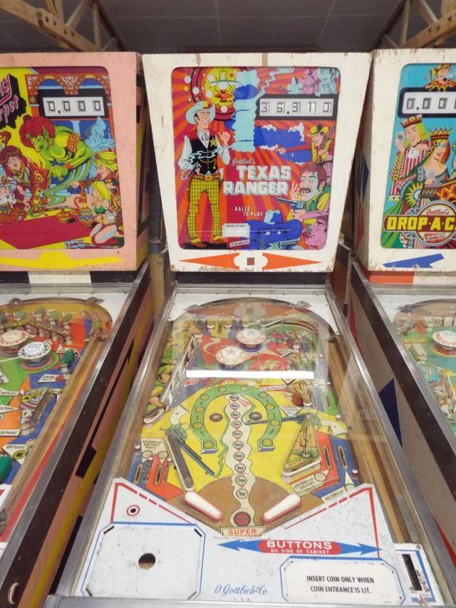 1972 Texas Ranger Gottlieb Pinball Machine Pinball Pinball Machines Pinball Game