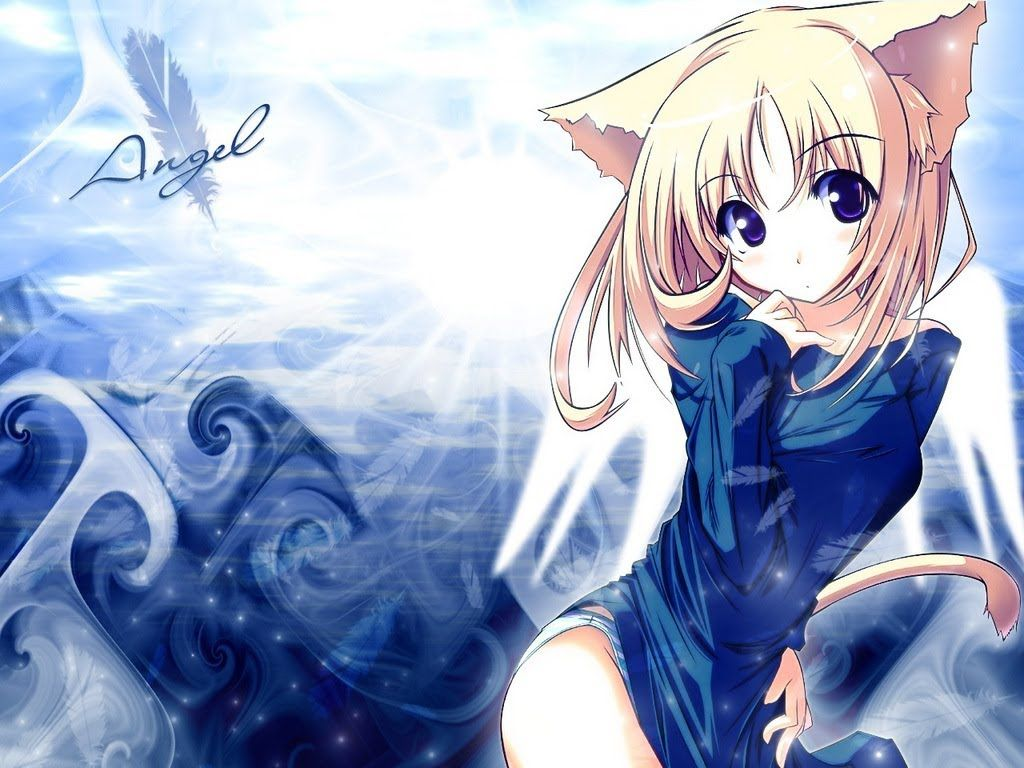 Collection Cute Cat Girl Wallpaper