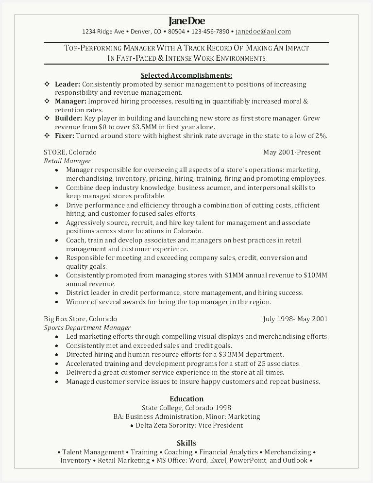 36 New Retail Sales Manager Resume Images In 2020 Retail Resume Examples Retail Manager Manager Resume