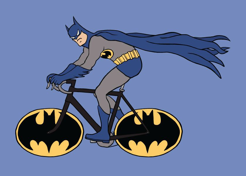batman fahrrad