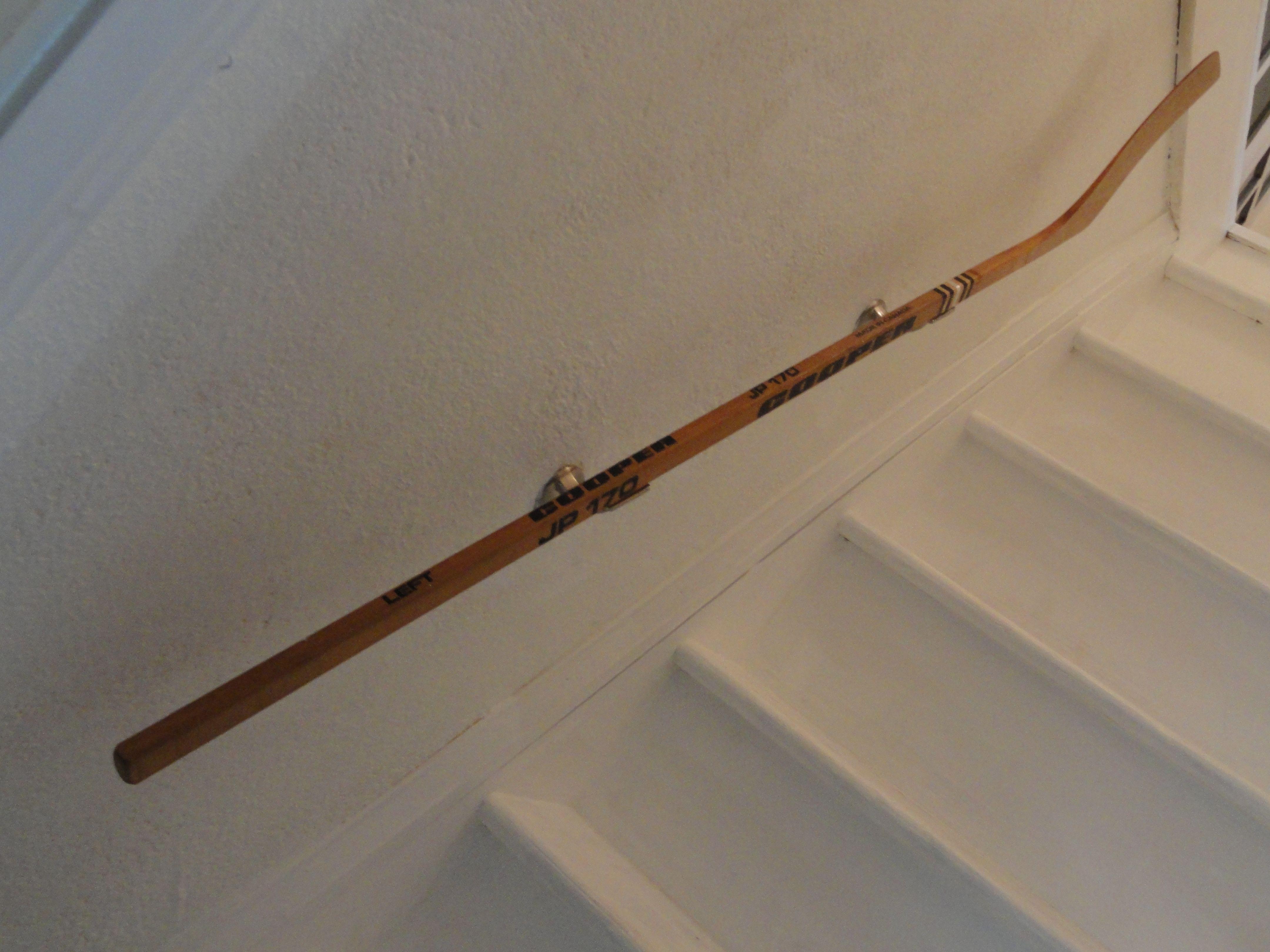 Pin By Samantha Kennett On For The Home Hockey Room Hockey Decor Hockey Stick