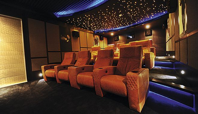 Home Cinema Attic Movie Rooms