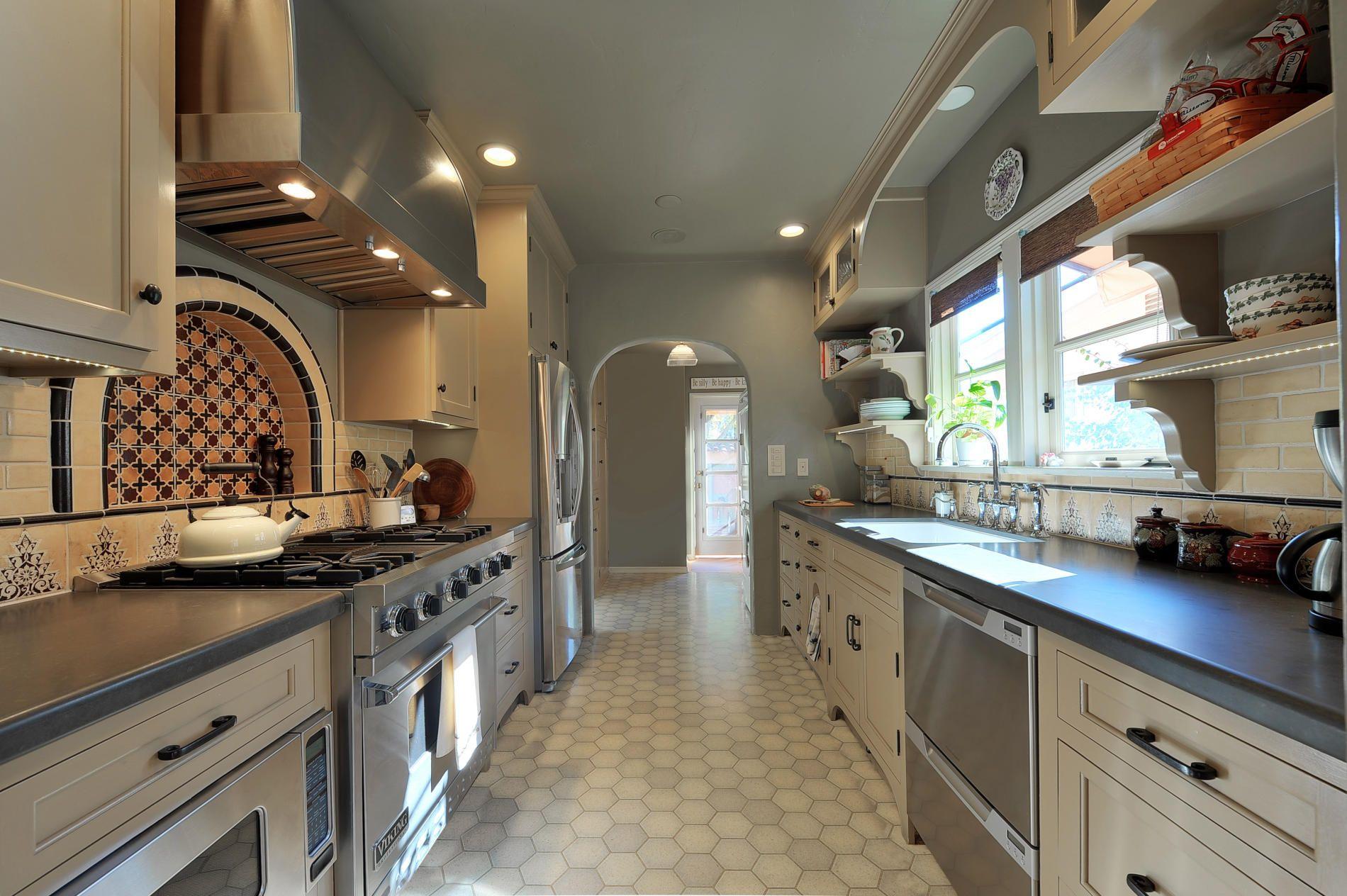 Salamoff Design Studio Moroccan Style Kitchen Design