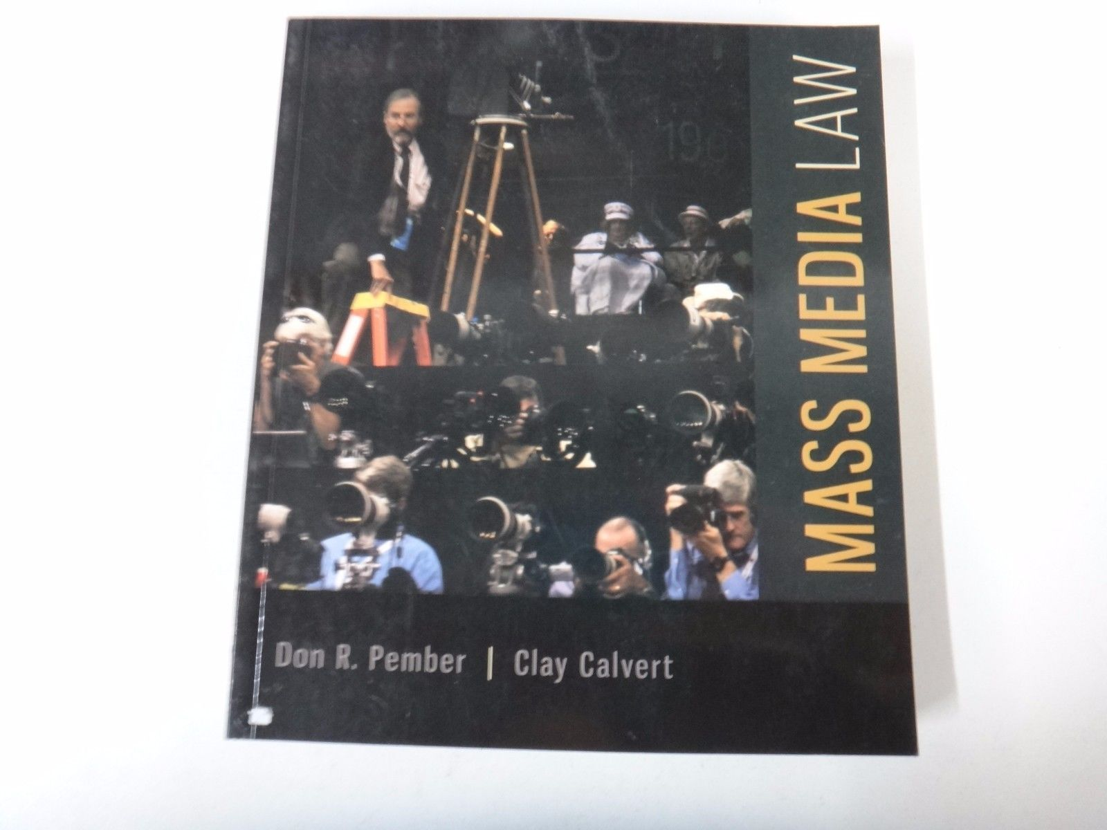 052 Mass Media Law by Don Pember and Clay Calvert (2014 Paperback) https://t.co/5oRigotZR5 https://t.co/mbpcJuXKR9