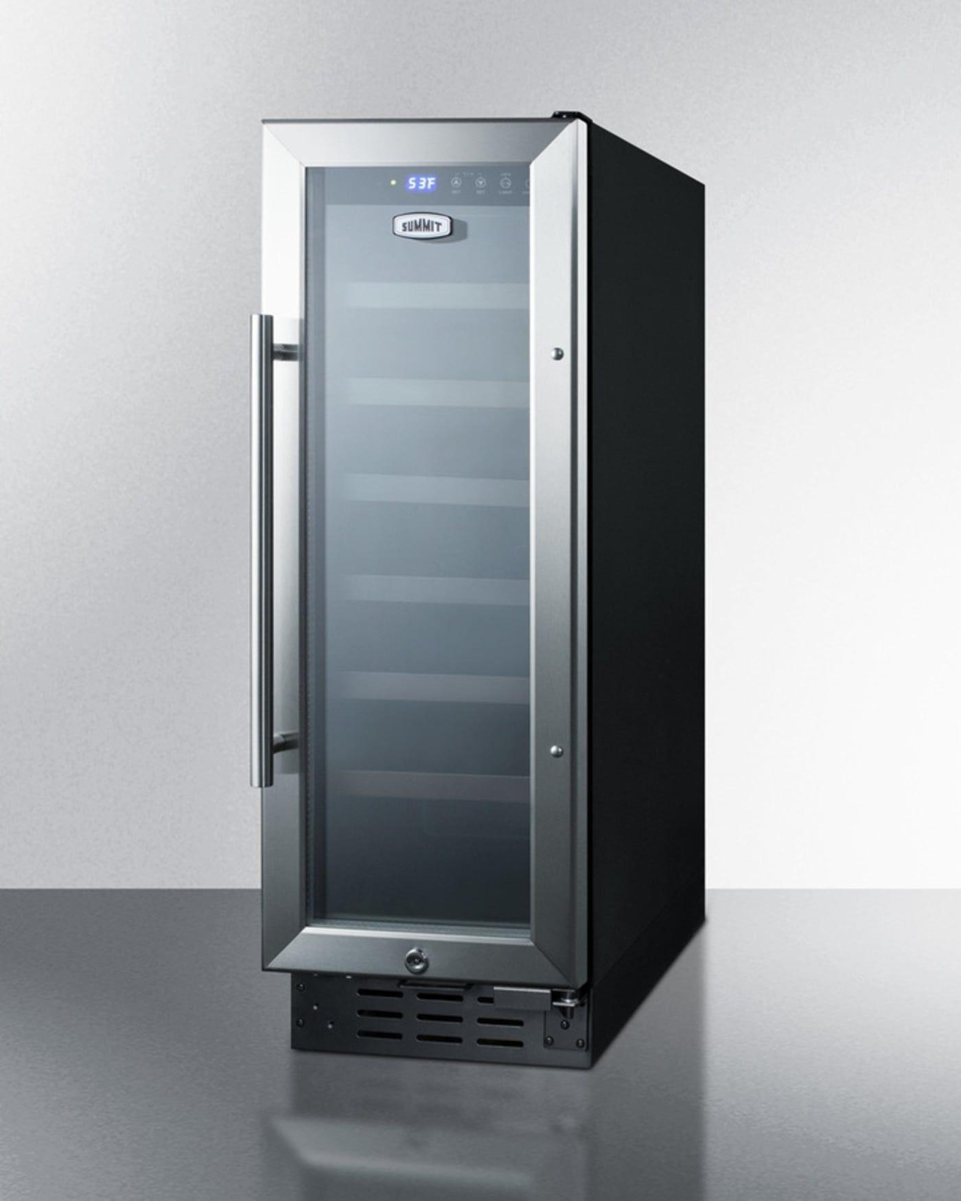 Swc1224b By Summit Wine Chillers Refrigerators Goedekers Com Outdoor Kitchen Appliances Outdoor Kitchen Design Wine Cellar