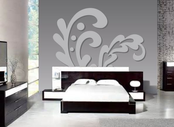 BOLD YET SOPHISTICATED. Choose any colors you want with this Paint-by-Number wall mural from Elephants on the Wall.