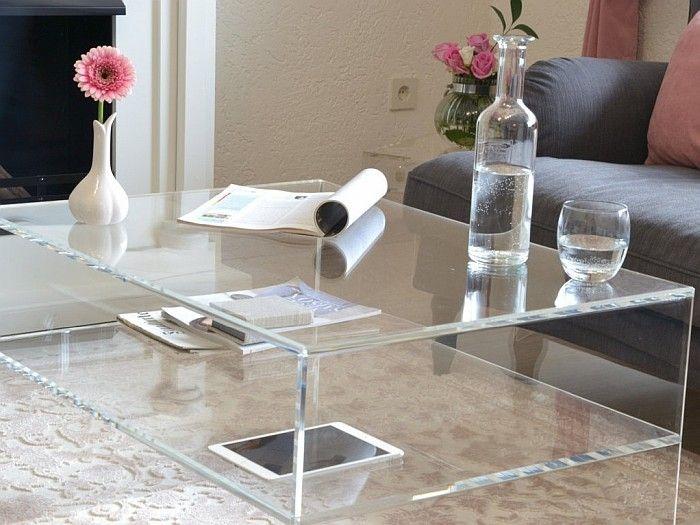 Davinci Couchtisch Couchtisch Plexiglas Tisch Tisch