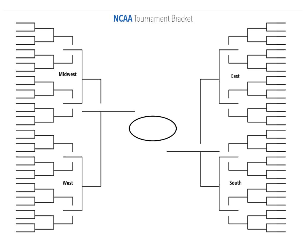 The Surprising Blank Ncaa Tournament Brackets To Print For Men S March In Blank March Madness Bracket Temp Ncaa Tournament Bracket Ncaa Bracket Ncaa Tournament