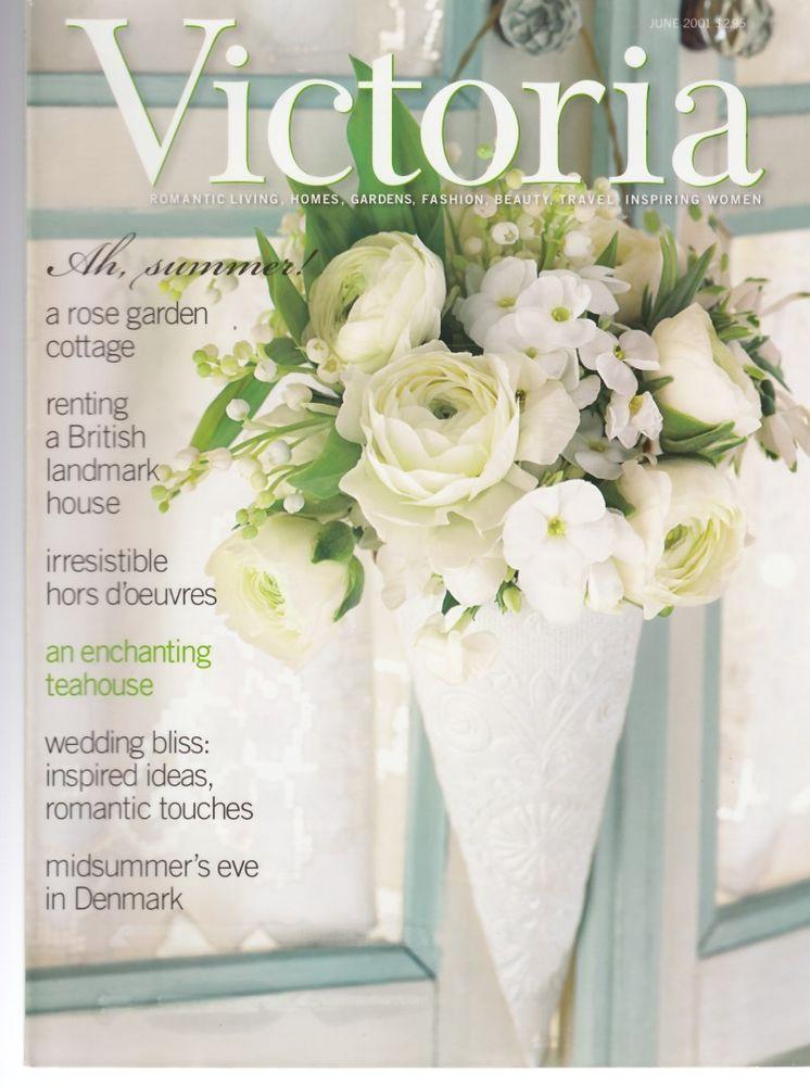 Victoria Magazine June 2001 Romantic Wedding Bliss Ideas