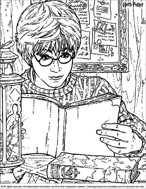 Harry Potter Coloring Page Harry Potter Ausmalbilder