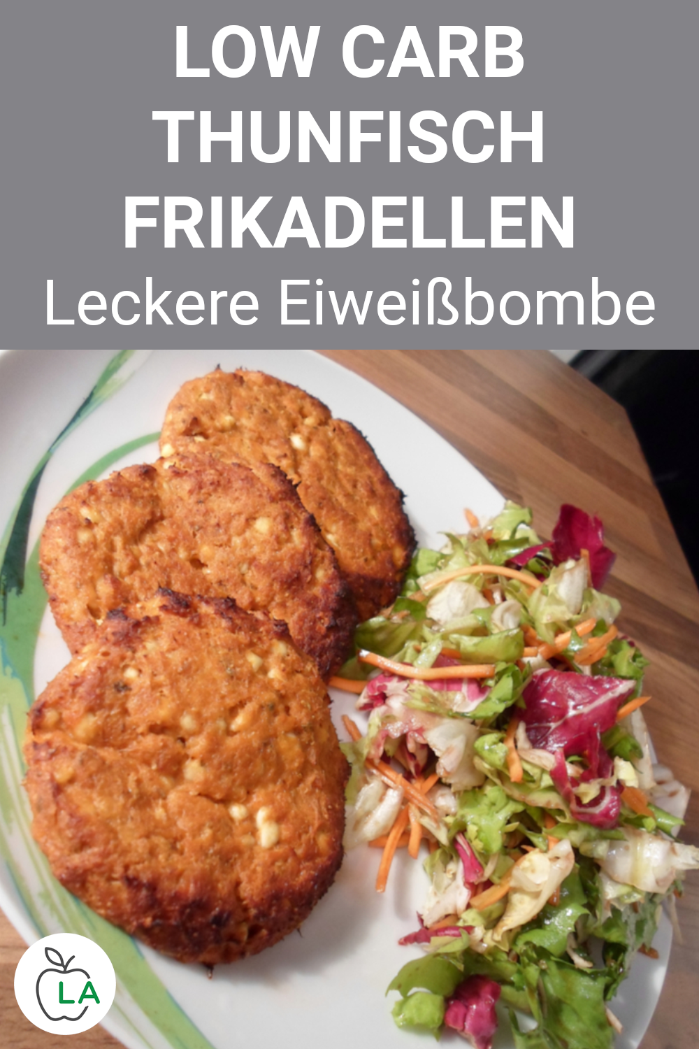 Thunfisch Frikadellen - Low Carb Abendessen ohne Kohlenhydrate,  #Abendessen #Carb #Fitness #Frikade...