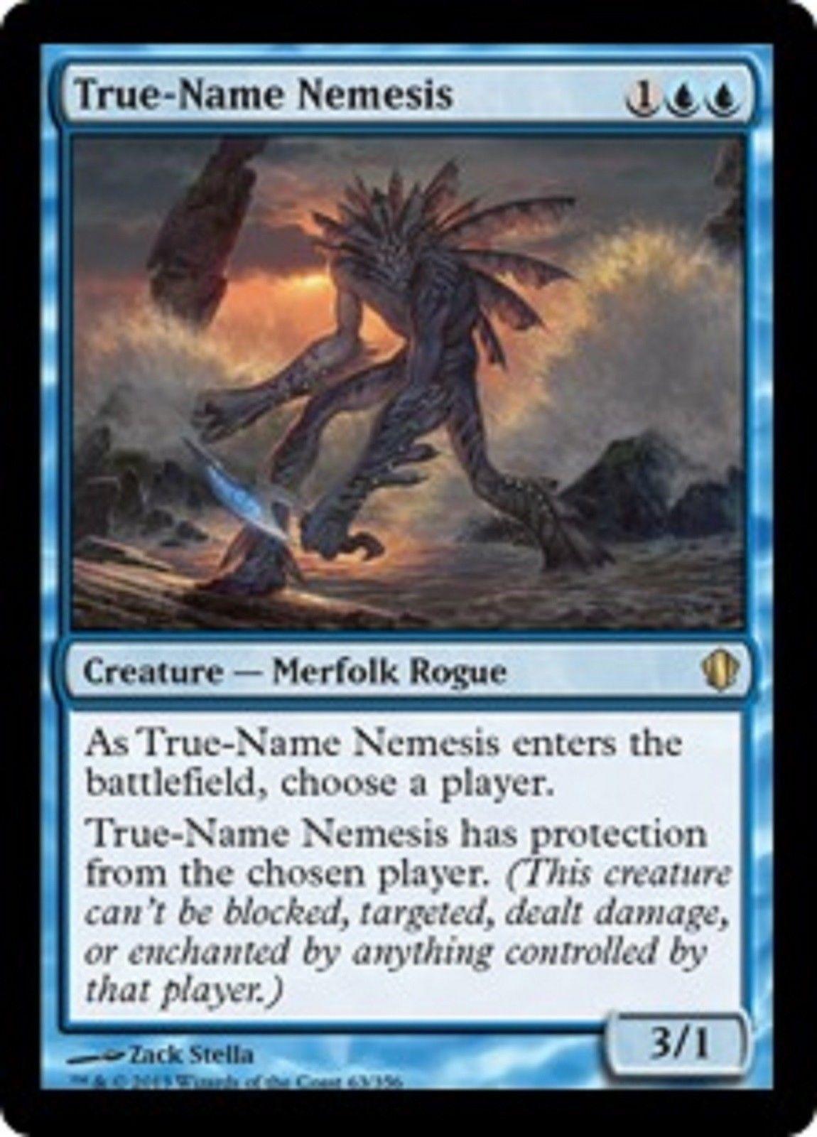 Magic the Gathering MTG True-Name Nemesis Commander 2013 Rare Nr Mint