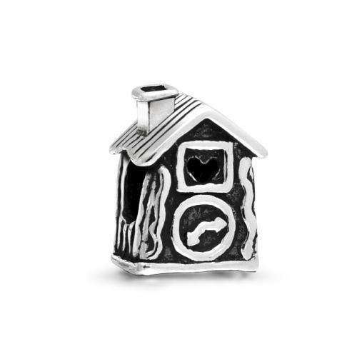 Pandora Jewelry Online Retailers: Silver School House Kids Bead Compatible With Pandora