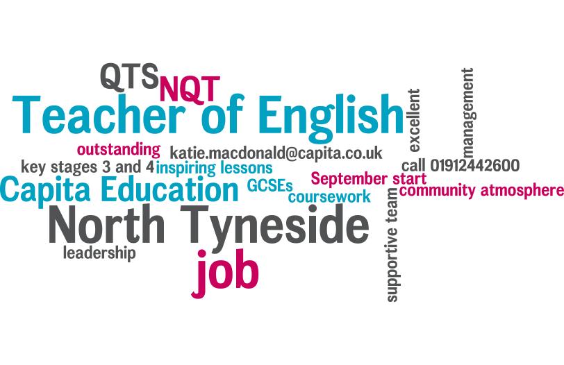 English teacher needed in Darlington for September
