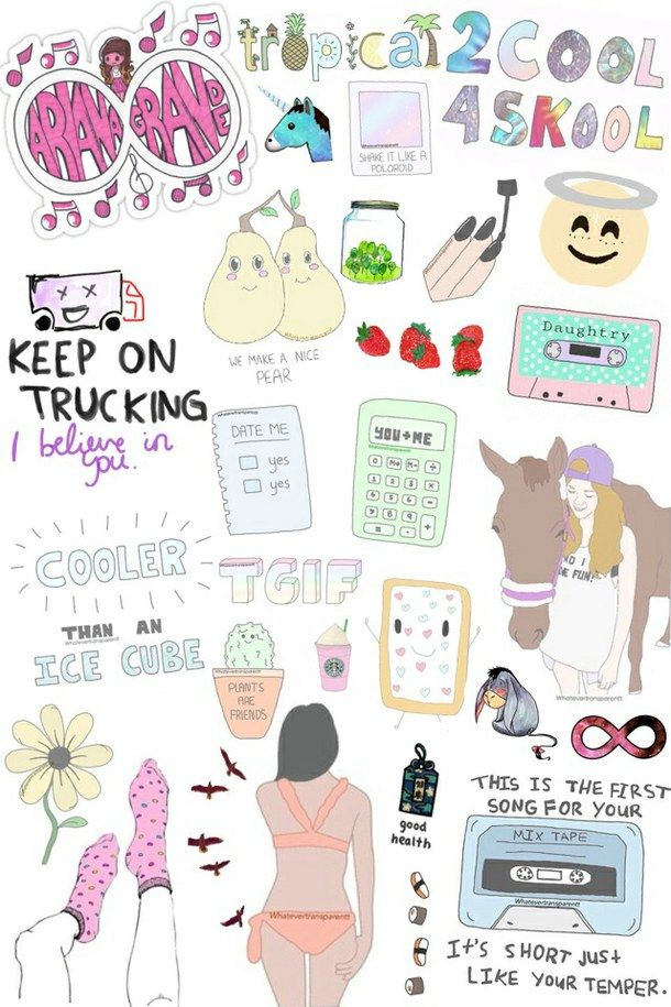 Ariana Grande Collage Cool Cute Girl Girly Hipster Horse