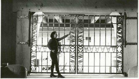 Cancellopedonale Cancello Rovigo Gate Design Iron Gate Iron