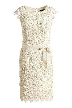 Esprit Collection Etui Kleid Aus Spitze Kleid Spitze Kleider Kleidung