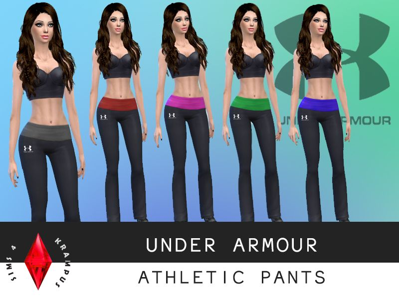 91f9c44f36b6 STATUS untested - by sims4krampus - Under Armour athletic pants