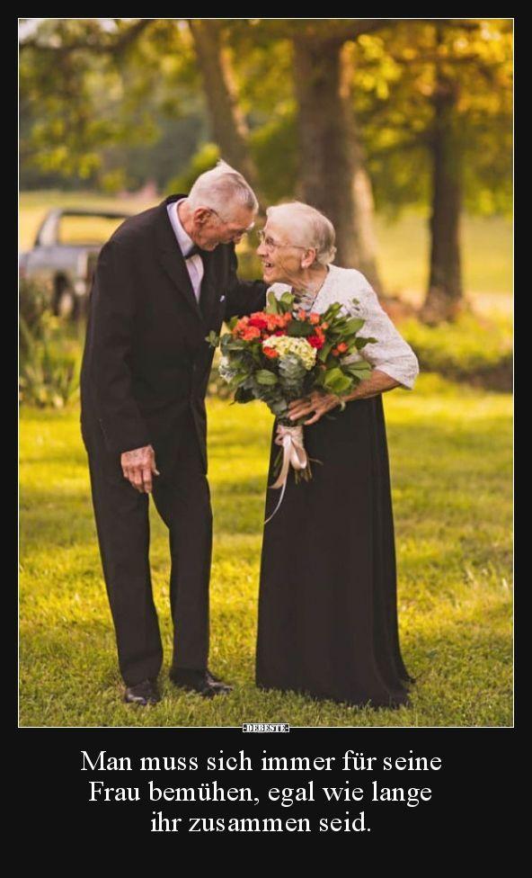 Man muss sich immer für seine Frau bemühen, egal wie.. | Lustige Bilder, Sprüche, Witze, echt lustig
