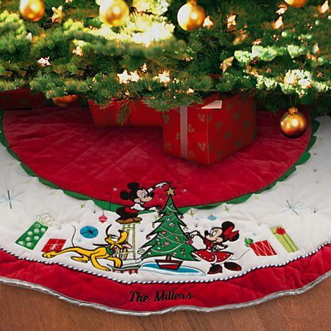 Christmas Tree · Mickey Mouse And Friends Tree Skirt ...