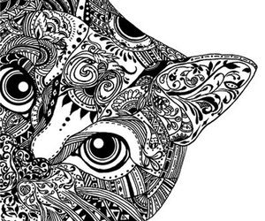 how to draw cats zentangle step by step - Buscar con Google