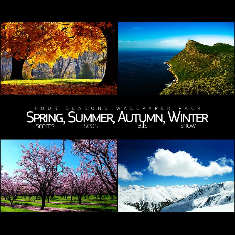 Four Seasons Wallpaper Pack Four Seasons Wallpaper Seasons