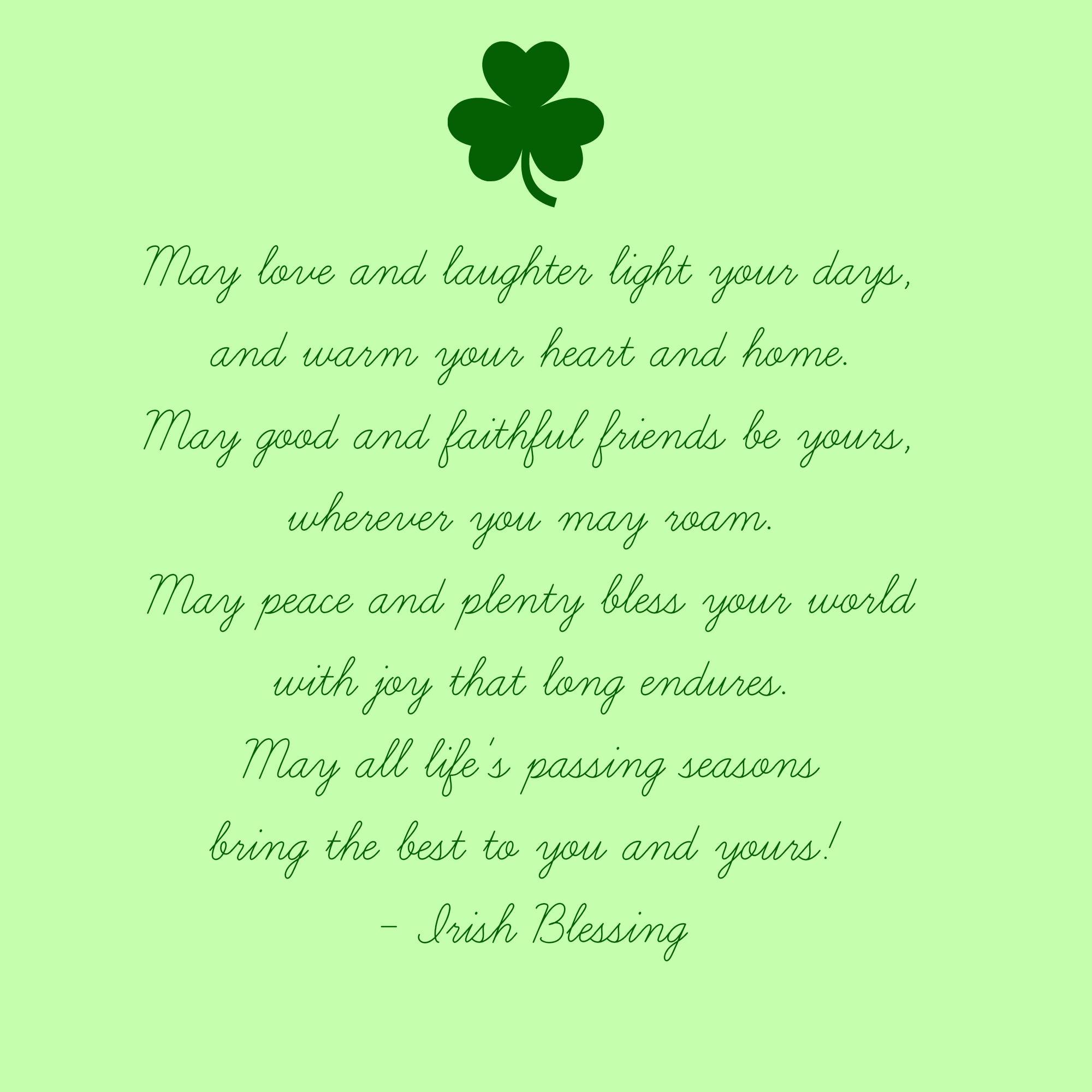 irish new year blessing - Google Search | sayings | Pinterest ...