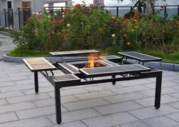 Backyard Creations 174 Adjustable Fire Pit Table From Menards